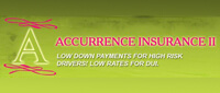 Website for Accurrence Insurance II