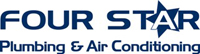 Website for Four Star Plumbing & Air Conditioning, Inc.