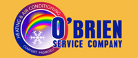 Website for O'Brien Service Company; Heating & Air Conditioning