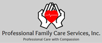 Website for Professional Family Care Services, Inc.