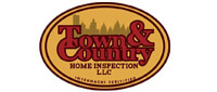 Website for Town & Country Home Inspection, LLC