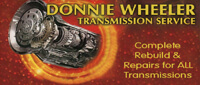 Website for Donnie Wheeler Transmission Service