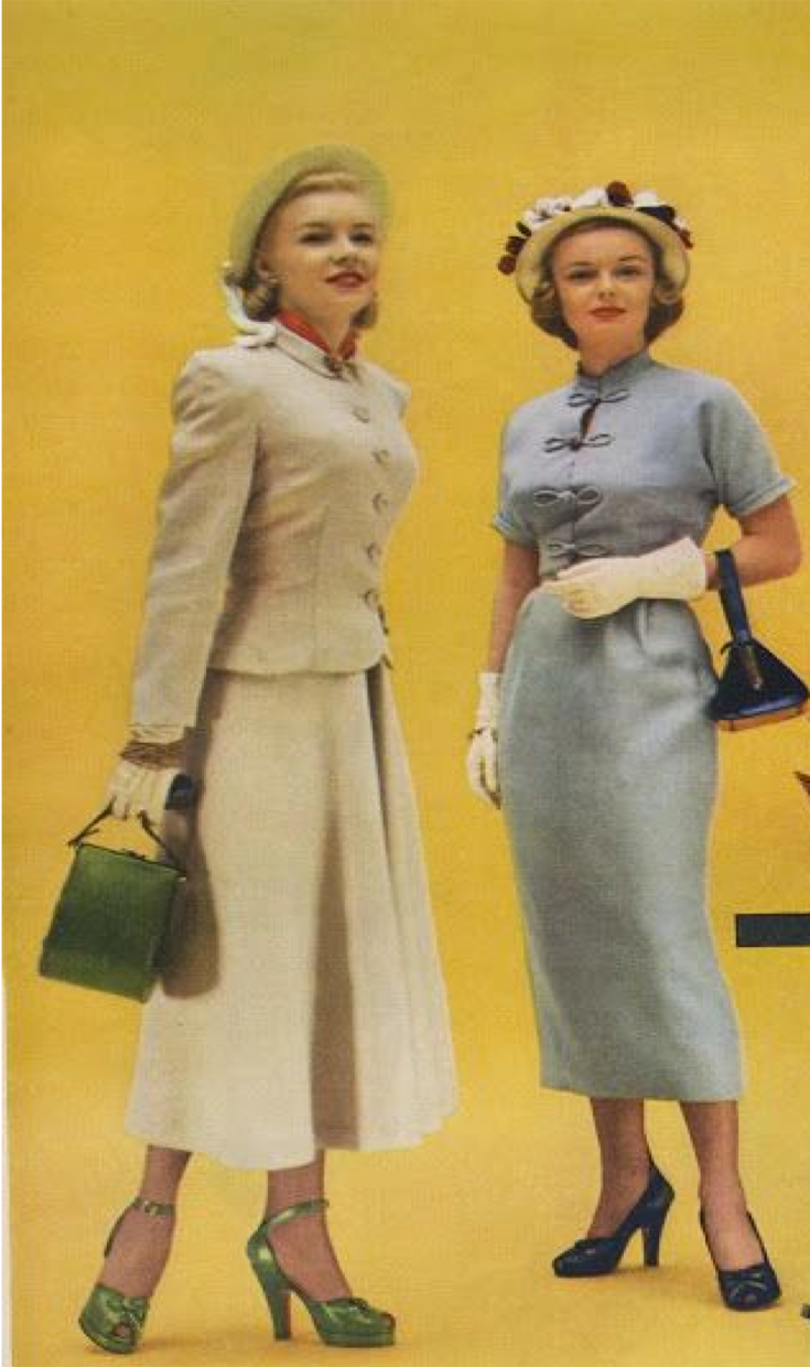 Fashion in 40's