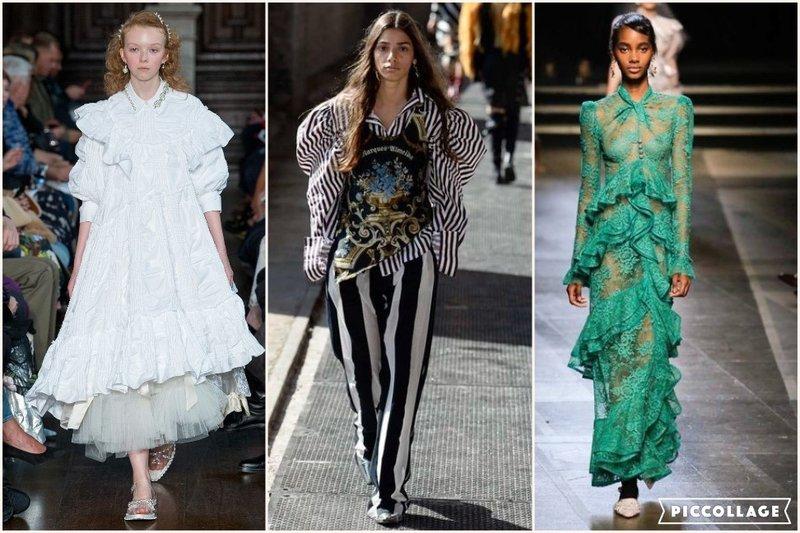 Ruffles London Fashion Week 2017