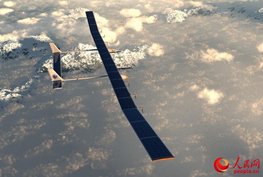 China's Latest Solar Powered Drone is Capable of Spending Months on End in the Air