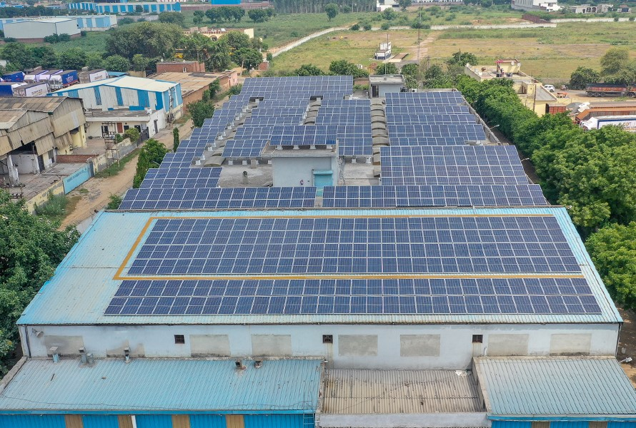 Faridabad solar power project