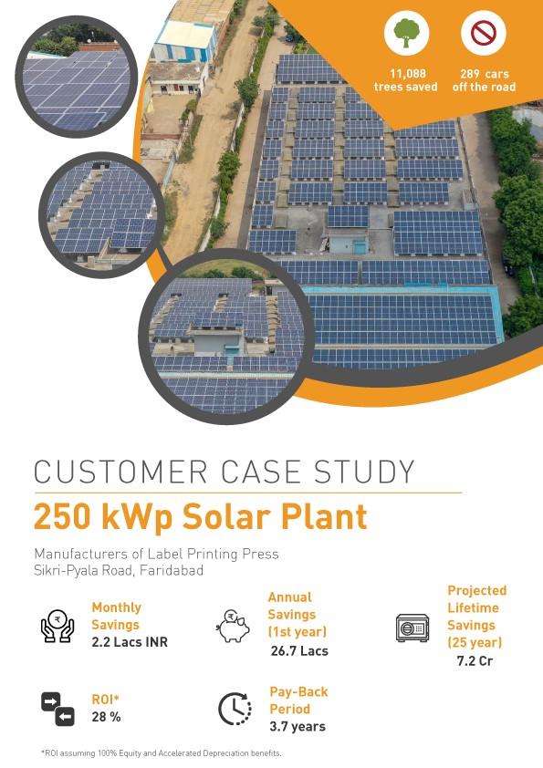 Solar Project in Faridabad