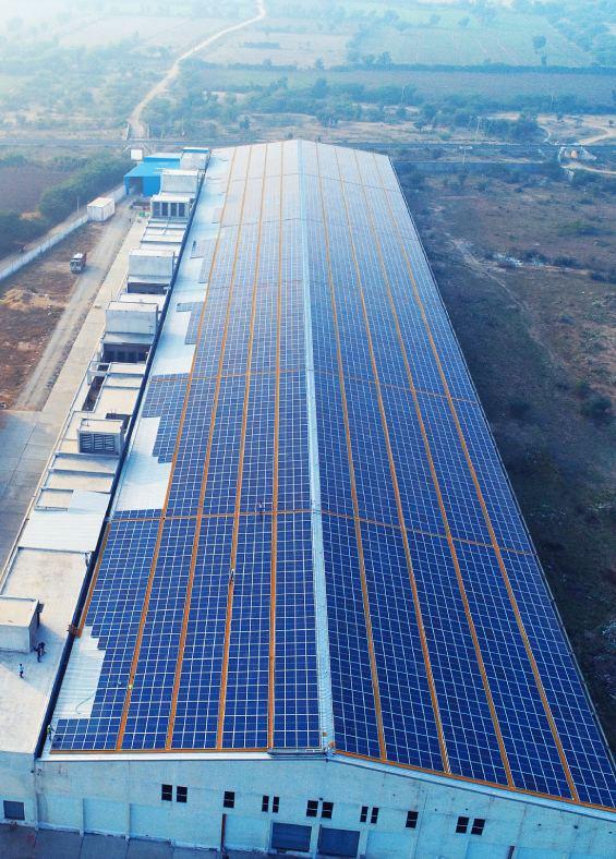 Solar system in Rajasthan, MYSUN