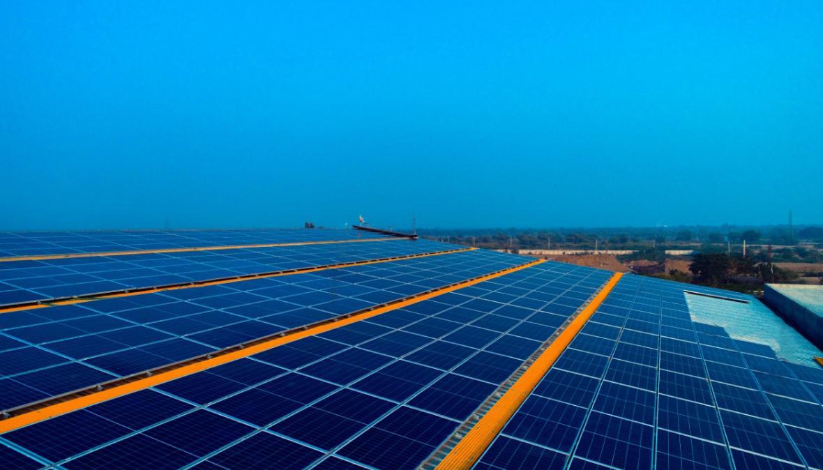 Solar plant in Bhilwara, Rajasthan - MYSUN