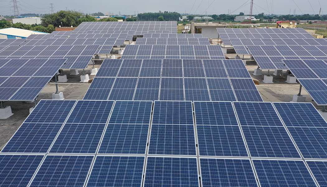 Solar system in Faridabad, Haryana - MYSUN