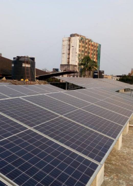 Solar system in Mumbai, MYSUN