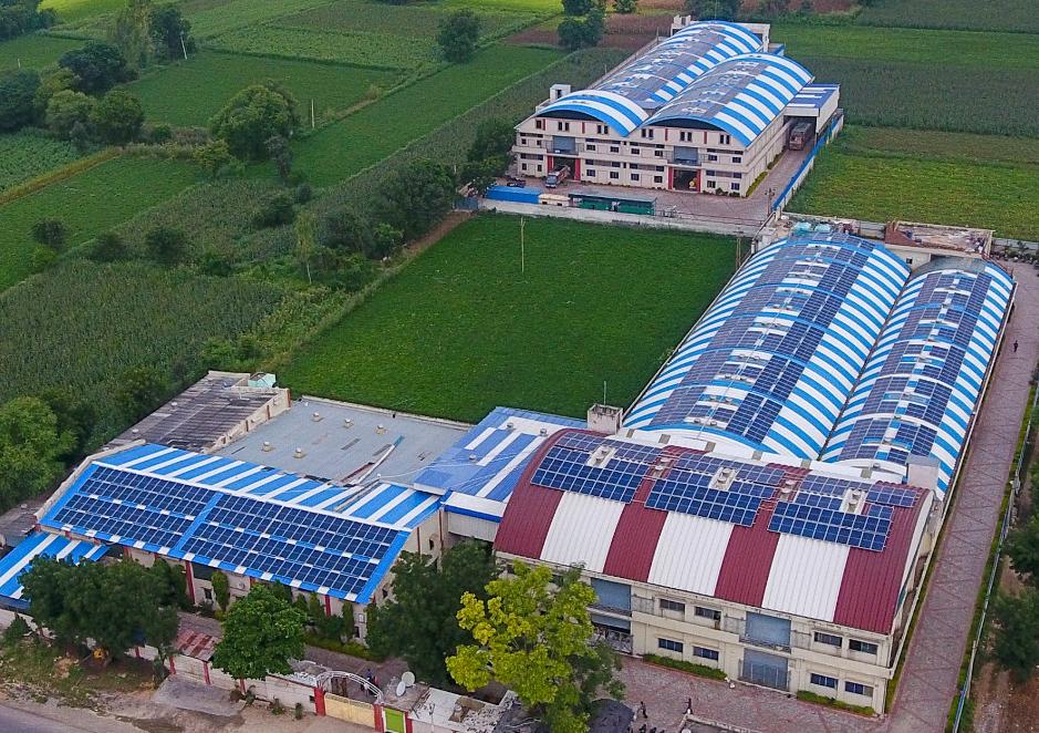 397.6kW solar power plant in Chittorgarh Rajasthan