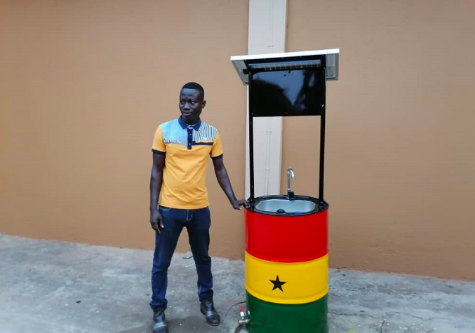 Interesting Ways the World is Using Solar Amid COVID-19 Crisis – Solar Powered Hand Wash Basin