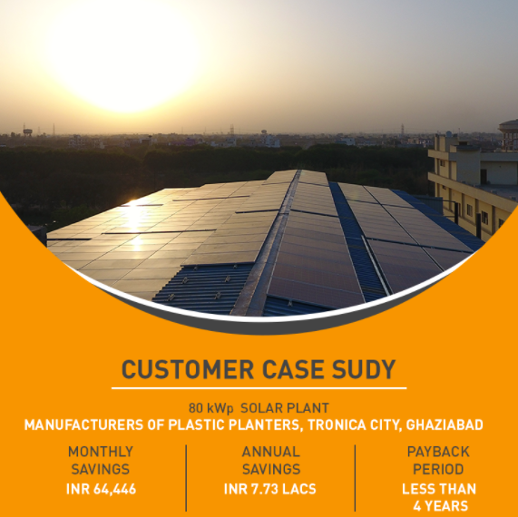 80 kWp Solar Plant Case Study