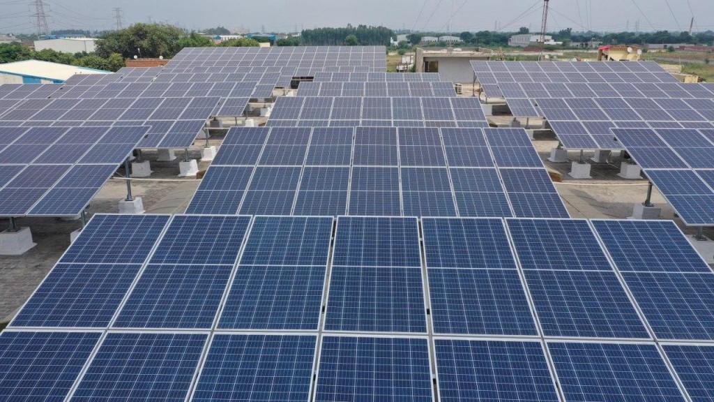Solar panel installation In India