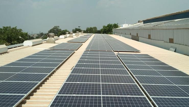 Solar plant in MP
