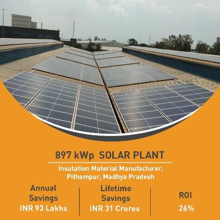 Solar plant in Madhya Pradesh