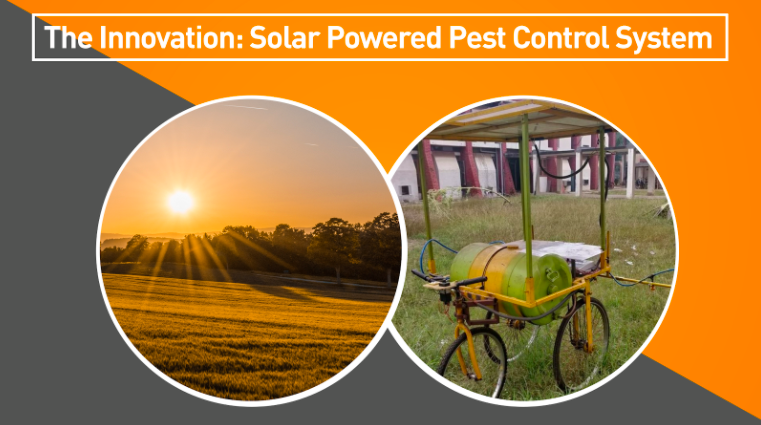 Solar Powered Pest Control System Application