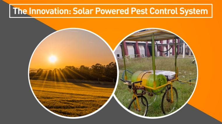Solar Powered Pest Control System Application