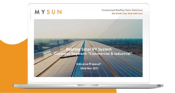solar panel calculator india