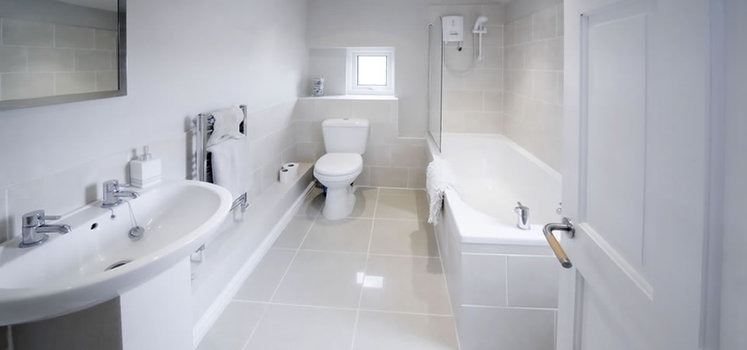Chicago Household Services Post Construction Cleaning Service - Bathroom deep cleaning service