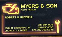 Myers & Son Auto Repair: Cooling System Flush