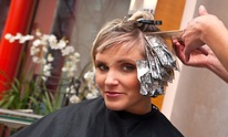 A new outlook hair salon: Hair Coloring