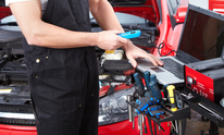 Auto Service Center: Oil Change