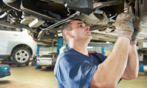 Custom Transportation Repair Facility: Oil Change