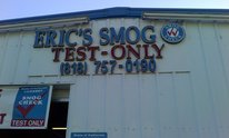 Eric's Smog Test Only: Smog Check