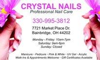Crystal Nails-aurora: Manicure