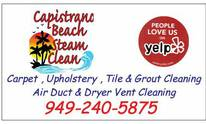 Capistrano Beach Steam Clean since 1991: Upholstery Cleaning