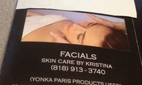 Christina's Skincare Services: Facial