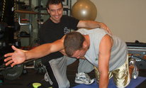 In Home Gym Personal Trainer Training: Personal Training