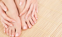 French Door Day Spa the: Mani Pedi