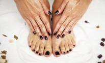 At Your Fingertips: Mani Pedi