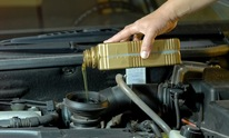 Foothill Transmission: Oil Change