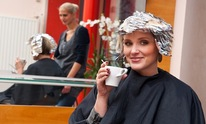 Divinely Favored Hair Salon: Hair Coloring