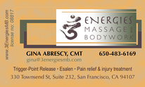 3 Energies Massage And Bodywork: Massage Therapy