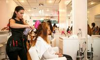 Blow Me Away Blow Dry Bar: Makeup Application