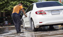 No Water Cleaning: Auto Detailing