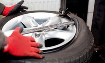 Wolf's Automotive: Flat Tire Repair