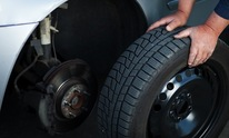 Gulf Shores Collision Center: Flat Tire Repair