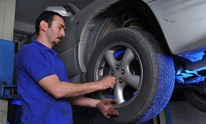 Big Rig Services: Flat Tire Repair