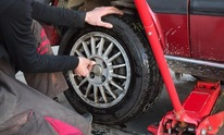 Custom Mechanic Work: Flat Tire Repair