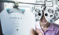 Optical Reflections: Eye Exam