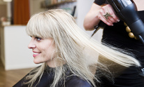Exhale A Salon Retreat: Hair Straightening