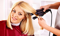Harriet's Beauty Salon: Hair Straightening