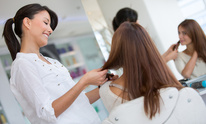 Anne at Jim Wayne Salon: Hair Straightening