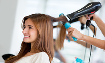 Final Touch Styling Salon: Hair Straightening